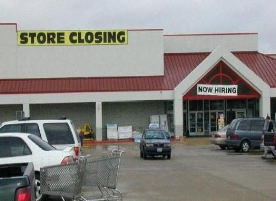 Store Closing Now Hiring