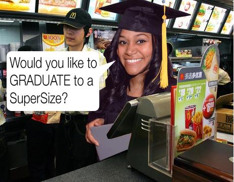 Underemployed Graduate