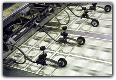 We Can't Stop……Printing Money