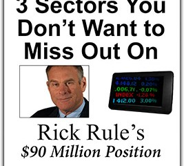 3 Sectors You Don't Want to Miss Out On