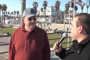 Economic Collapse Awareness on the Streets of Huntington Beach