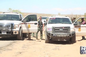 Feds standoff with Bundy supporters