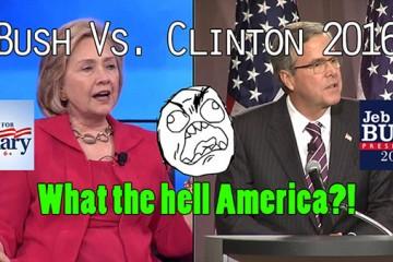 Bush vs Clinton 2016