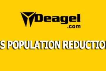 DEAGEL.com Just LOWERED 2025 US Population Forecast to 65mil