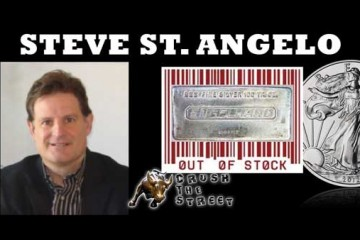 Silver Shortage Reaches Wholesale Market - Steve St. Angelo Interview - SRSRocco Report