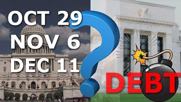 Government Shutdown Oct 29 Nov 6 or Dec 11 Take Your Pick