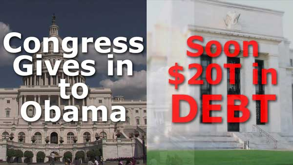 Obama Wins Debt Ceiling Increase to End of Presidency