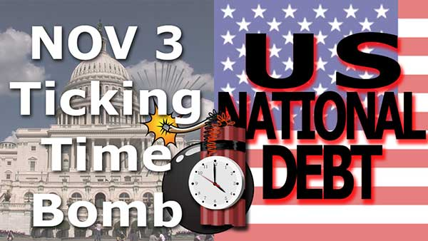 US Debt Ceiling & Budget Showdown, Just 2 of Many US Problems