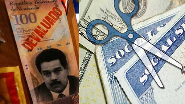 Venezuela in Economic Crisis, U.S. Cuts Social Security Funds