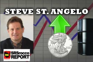 $20 Oil will Cause The Break in Silver & Gold Coming - Steve St. Angelo Interview