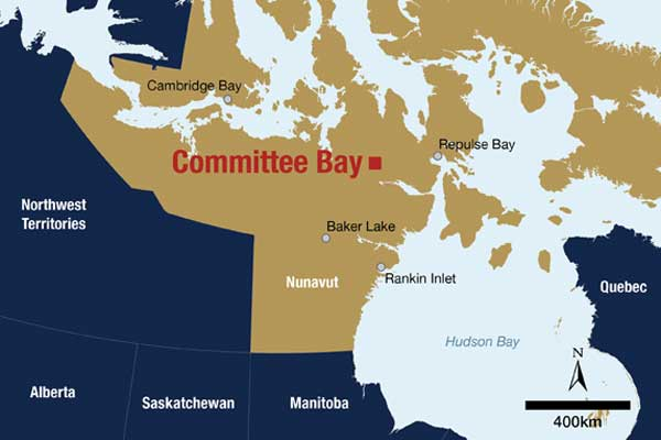 Committee Bay Map