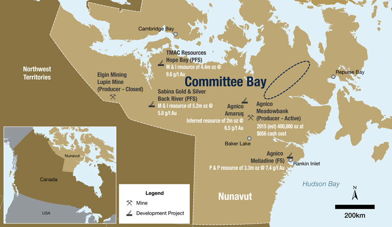 Committee Bay Overview