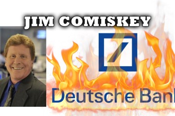 The Derivatives Bubble is About to Destroy Deutshcebank! - Jim Comiskey Interview