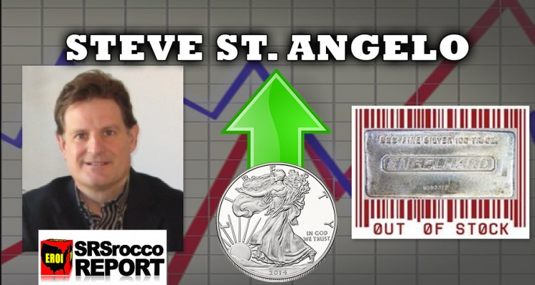 $20 Oil, $100 Silver & 10,000 Dow Jones - Steve St. Angelo of SRSRoccoReport.com Interview