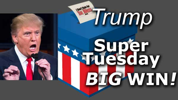 Super Tuesday: Donald Trump is the Best of the Worst for America