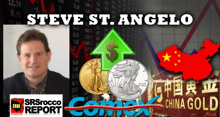 Silver & Gold Rally Being Led by China as they Takeover Pricing - Steve St. Angelo Interview, SRSRoccoReport.com