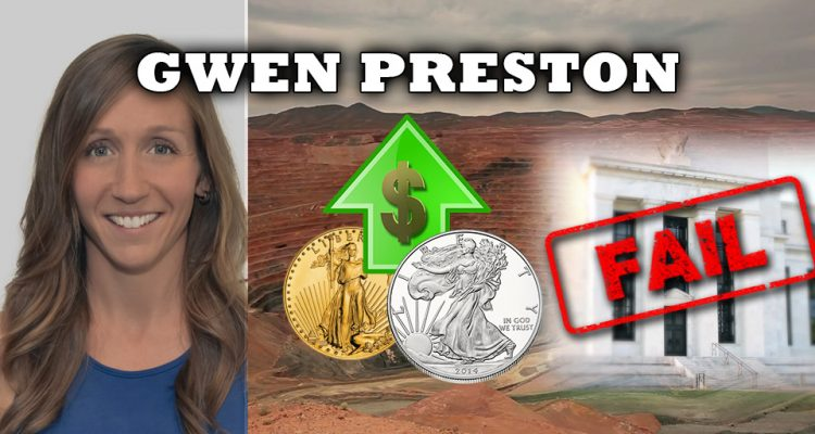 Massive Gains Expected for Those Buying Gold, Silver & Mining Now at Bottom - Gwen Preston Interview