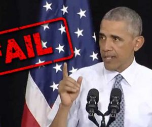 Obama Economic Recovery Speech FAIL