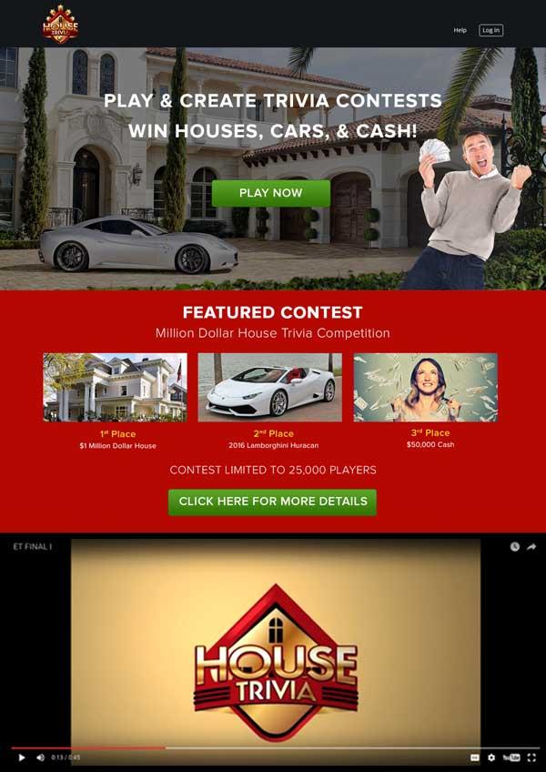 House Trivia Platform