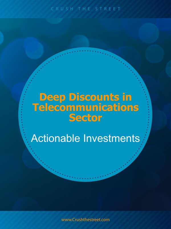 Deep Discounts in Telecommunications Sector