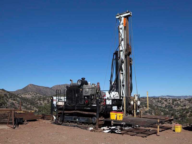 Drilling - Arizona Mining Inc