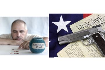 Aaron Clarey,2nd amendment,gun rights,knife control,gun control UK,gun confiscation,retirement savings,baby boomers,Harry Dent,stock market,not enough retirement,savings,retire early