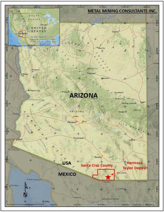 Taylor Deposit - Arizona Mining Inc