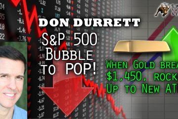 Don Durret,GoldSilverData.com,gold market,silver market,stock crash,world depression,NIRP,Andy Hoffman,GoldStockData.com,Janet Yellen,FED,interest rates,ZIRP,DXY,us dollar index,death of king dollar,JPY,USD,oil price