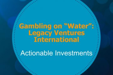 Gambling on Water