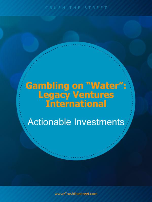"""Gambling on """"Water"""""""