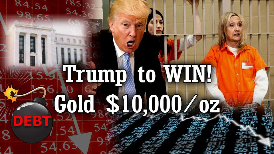 Trump win, anti-elite agenda, Market Crash, Gold $10k, Death of King US Dollar – James G. Rickards with new Book 'Road to Ruin'