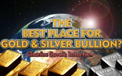 The Best Place to Store Gold & Silver Bullion? - Charles Savoie Interview