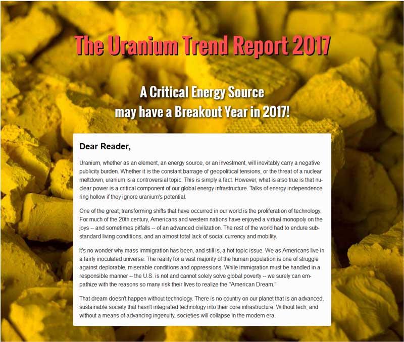 Uranium Trend Report