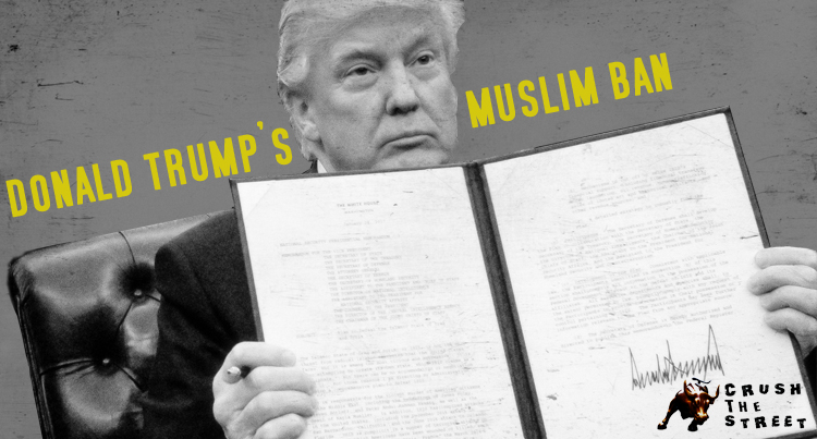 "Donald Trump's ""Muslim Ban"" Executive Order Sparks Protests"