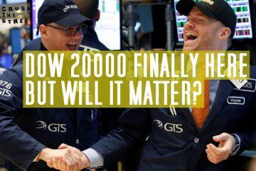Dow 20000, Dow 20k, market rally