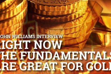 Right now the fundamentals are great for gold - John Williams