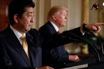 Shinzo Abe, Donald Trump