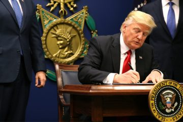restraining order, immigration ban