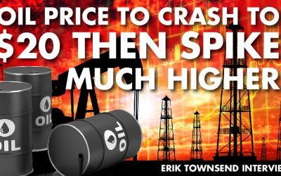 Oil Price to Crash to $20 then Spike MUCH Higher - Peak Oil Talk with Hedge Fund Manager Erik Townsend Interview