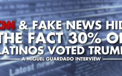 CNN & Fake News Hid the Fact 30% of Latinos Voted Trump - Miguel Guardado Interview