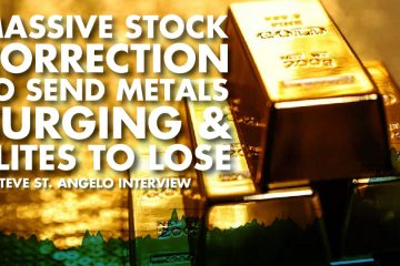Massive Stock Correction to send Metals Surging & Elites to Lose - Steve St. Angelo Interview