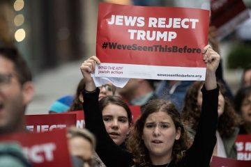 American Jews protest Trump