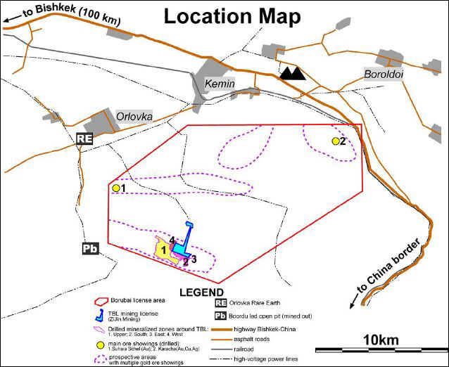 Kenadyr Minings Property