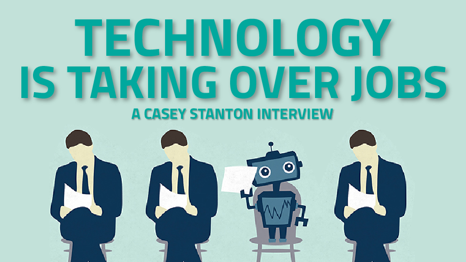 technology taking over jobs essay We all need to focus on which jobs are the best use of humans' unique robots can take over some of our jobs and more will join them as technology.