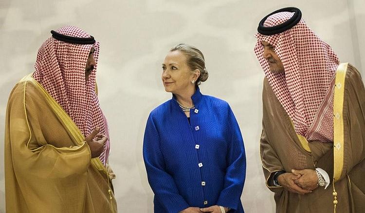 Hillary Clinton, Saudi Arabia