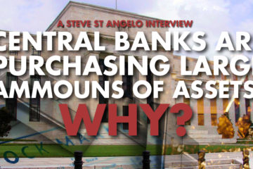 Central Banks Are Purchasing Large Amounts Of Assets! WHY? - Steve St. Angelo Interview