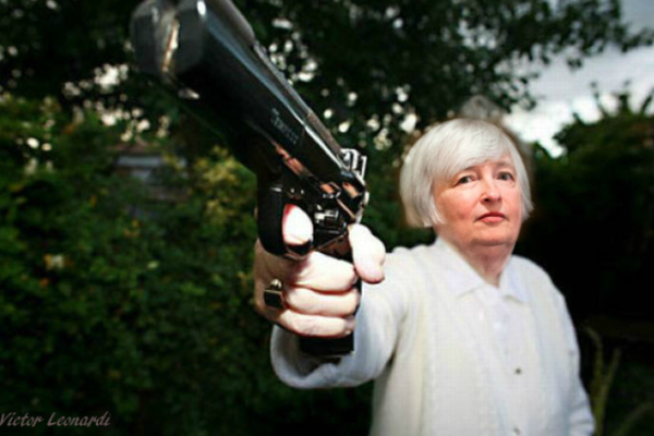 Yellen Pulls the Rate Hike Trigger Again and Jawbones Balance Sheet Hopium