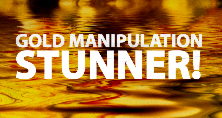 gold manipulation
