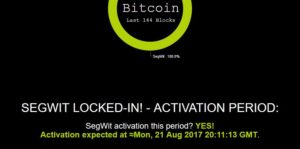SegWit Locked In! Bitcoin Users Celebrate!