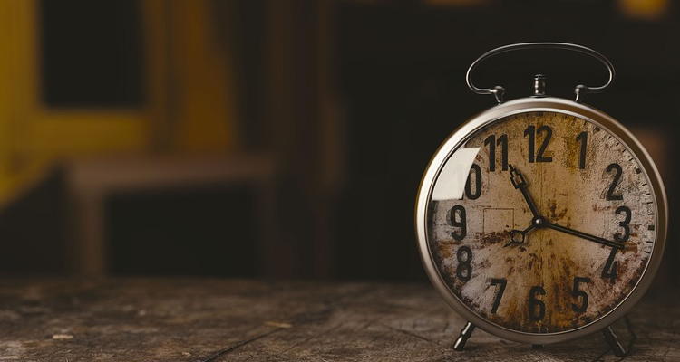 Bitcoin, Dow Jones, time acceleration